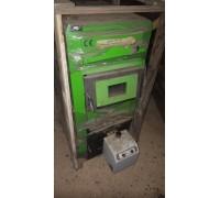 Пеллетный котел 35 кВт с факельной горелкой Б/У