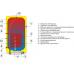 Бойлер косвенного нагрева Drazice OKC 80 NTR/Z