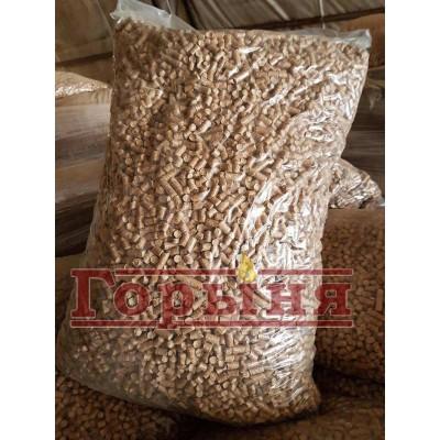 Пеллеты диаметром 8 мм в мешках по 40 кг