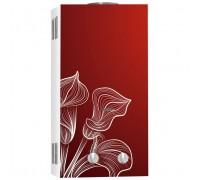 Водонагреватель BaltGaz NEVA 4510 Glass (красный цветок)