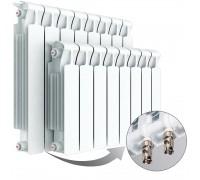 Биметаллический радиатор Rifar Monolit 350 Ventil, 4 секции