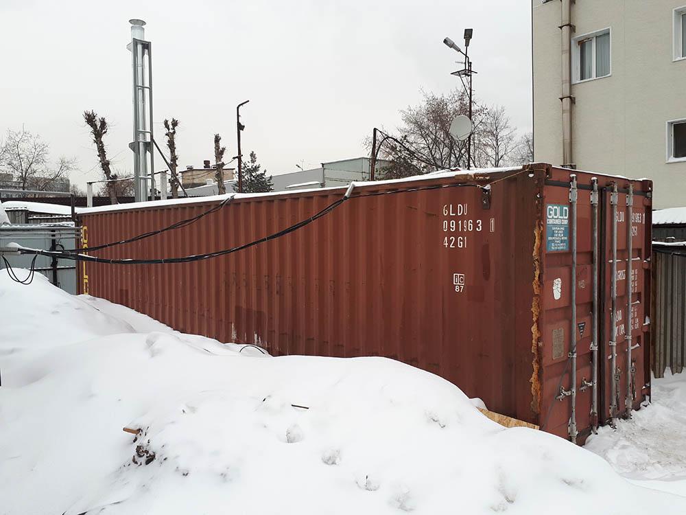 Kentatsu PR 140 в контейнере