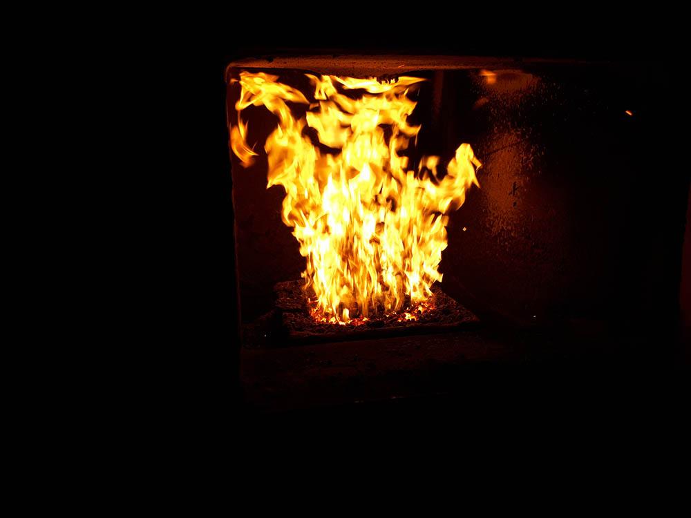 Сжиание пеллет в Kentatsu PR 30P