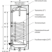 Бойлер Galmet TOWER 140 косвенного нагрева